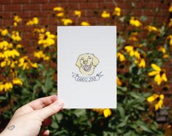 Postcard : Good job!