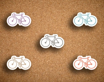 Bike, Road Bike, Bicycle Planner Stickers for Inkwell Press IWP-DCB1