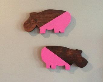 Pink Hippos