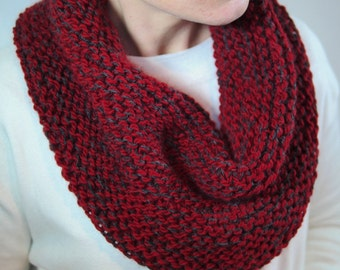 Snood Choker hand-knitted wool