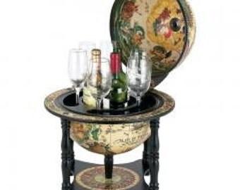 """13"""" Diameter Italian Replica Globe Bar"""
