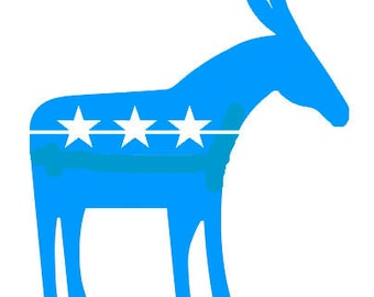 Donkey STENCIL (Reusable)Different Sizes Available Election, Democrat