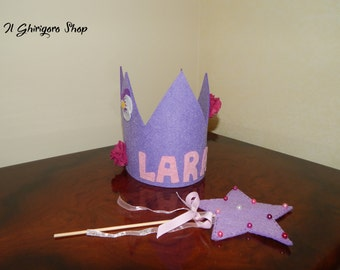 Birthday Crown and wand set