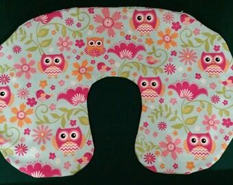 Baby Owl Boppy Cover