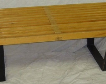 48 inch George Nelson bench for Herman Miller