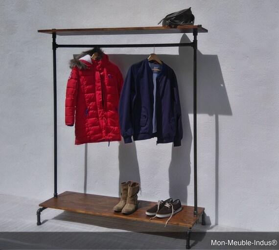 portant v tement industrielrangement chaussure par monmeubleindus. Black Bedroom Furniture Sets. Home Design Ideas