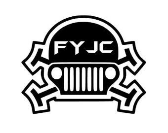 FYJC Skull Decal