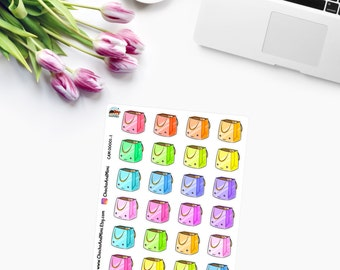 KAWAII SHOPPING Planner Stickers - CAM00001-1
