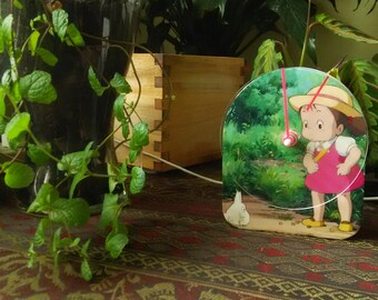 My Neighbor Totoro Clock - Mei