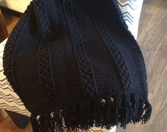 Black Afghan, Crocheted