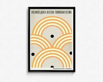 The Lower Silesian Phonographic Fair - vinyl poster
