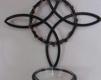 Witches Knot wall sconce