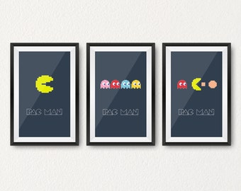 PacMan history prints pack