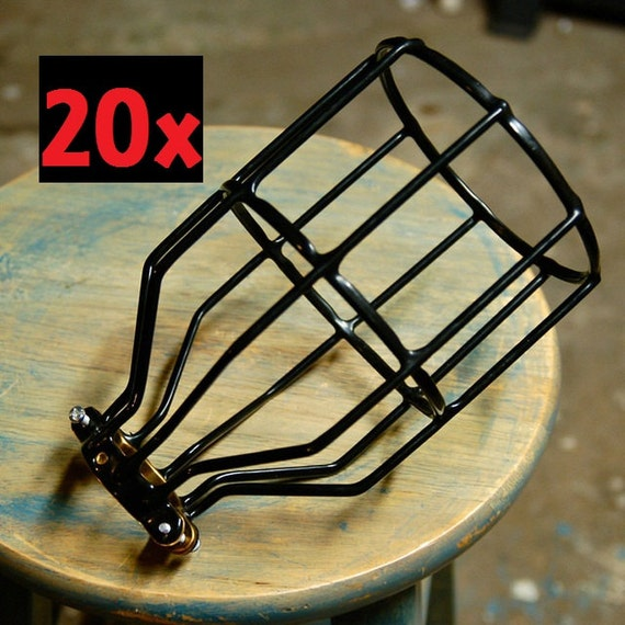 metal cage bulb guard wall light metal lamp cage. Black Bedroom Furniture Sets. Home Design Ideas