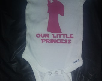 Our Little Princess (Leia) onesie