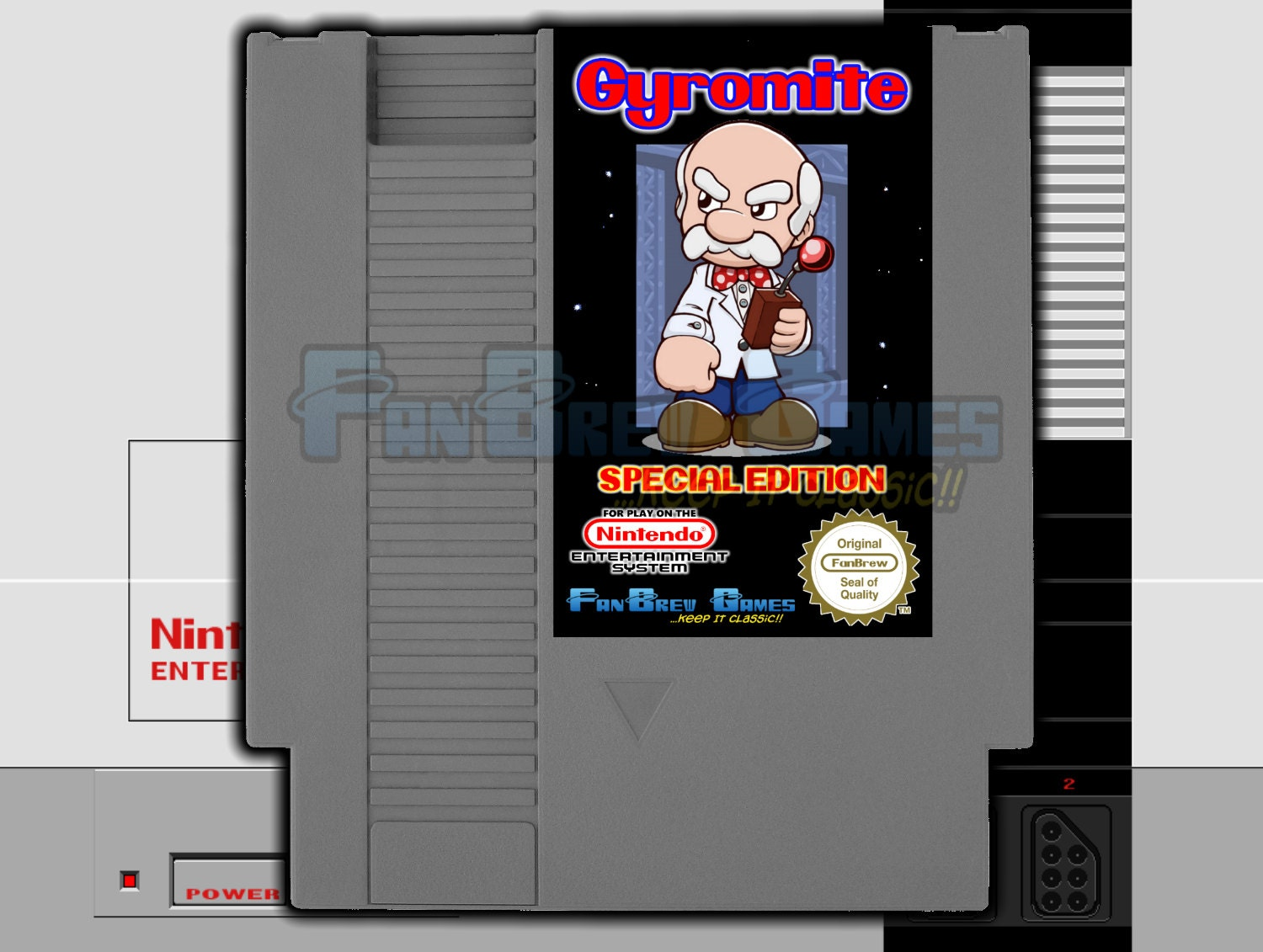 gyromite nes how to play