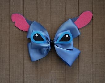Disney Inspired Stitch Hair Bow