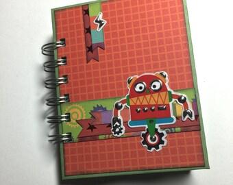 Robot, Space, Alien Themed Mini Album