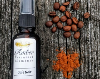 Café Noir: coffee, cinnamon, and vanilla room spray
