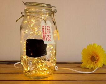 Fireflies jar lamp