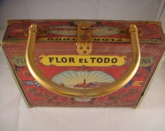 hand made cigar box purse