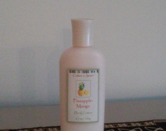 Pineapple-Mango hand and body lotion