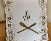Laser Cut Wedding Invitation, Wedding Invite, Lace Wedding Invite, Bohemian Wedding Invitation,