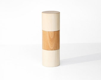 DUO Peffermühle with built-in salt shaker