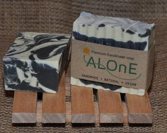 Charcoal & Tea Tree Vegan Soap Bar