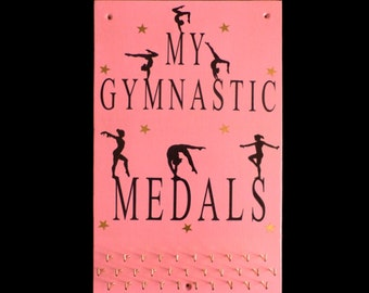 Large Gymnastics Sports Medal Hangers, Displays & Plaques