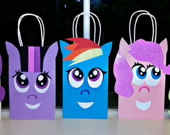 My little pony goody bags