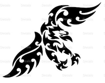 Bird Decal - Bird Sticker - Bird Vinyl Decal - Animal Sticker - Hawk Decal - Eagle Decal - Hawk Sticker - Bird Wall Art - Bird Car Decal