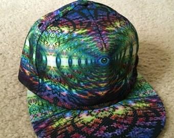 New Trippy Snapback hat