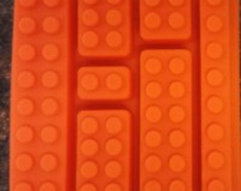 Building Blocks LEGO universe Silicone mold Blocks #2