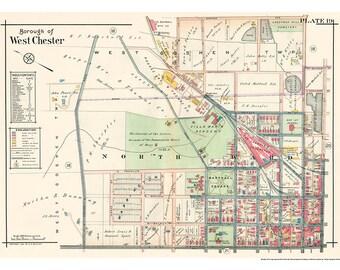 West Chester North Ward Mueller 1912