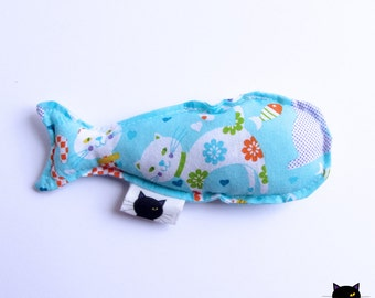 Fabric Catnip Fish Toy for cats