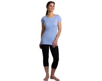 Women's Eco Lightweight Eucalyptus Yoga T-Shirt