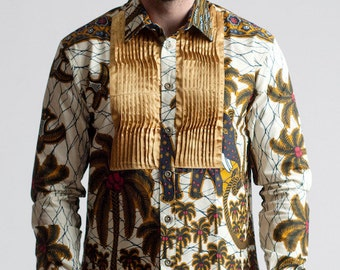 High Fashion Ankara Shirt