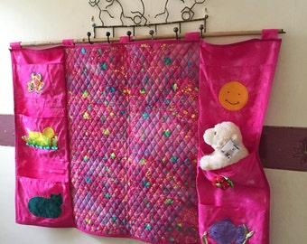 nursery/children's room wall hanging - baby's changing mat