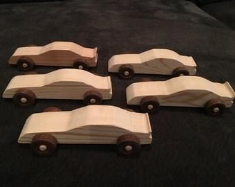 5 race cars