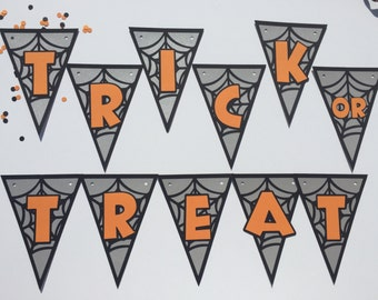 Trick or Treat Halloween Party Banner