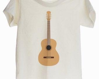 Classical Guitar Organic T-shirt for Kids