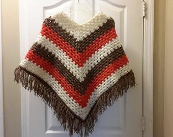 Woman's poncho size medium to extra large