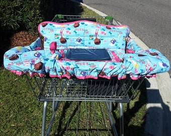 Doc McStuffins Shopping Cart & Highchair Seat Cover