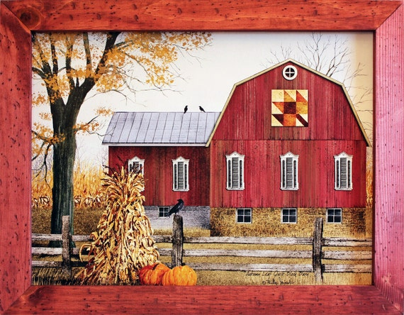 Red Country Wall Decor : Red barn decor farm farmhouse by