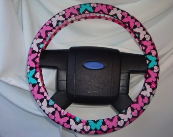 "Steering Wheel Cover-15""-16""-100% Cotton."