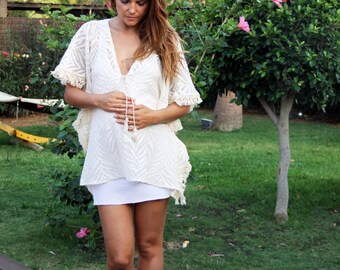 maternity boho dress