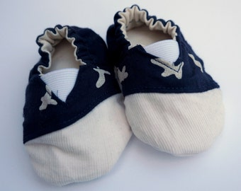Baby shoes - organic cotton