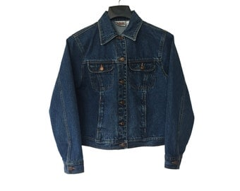 Vintage Bill Blass Jean Jacket FREE SHIPPING!