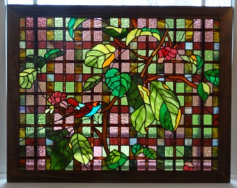 Stained Glass Window - Branching Beauty